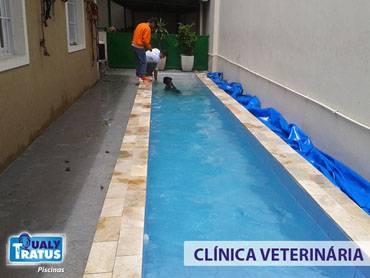 Empresa de Tratamento de Piscina na Vila Benevente - Limpeza Filtro Piscina