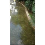 limpeza de água da piscina preço no Sacomã