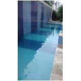limpeza de piscina de azulejo na Casa Verde