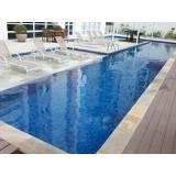 Manutenção de piscinas de fibra na Chácara Inglesa