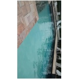 tratamento de piscina aquecida no Cursino
