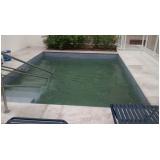 tratamento de piscina aquecida preço em Belém