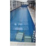 tratamento de piscina com água turva na Lapa