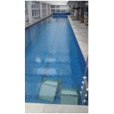 tratamento de piscina com água turva no Sacomã