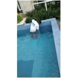 tratamento de piscina de azulejo preço em Moema