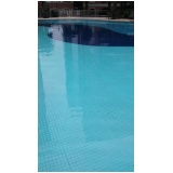 tratamento de piscina de PVC em Belém