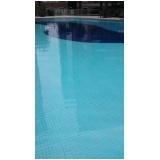 tratamento de piscina de PVC no Cursino