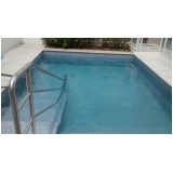 tratamento de piscina de PVC preço na Cupecê