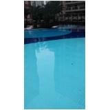 tratamento de piscina de azulejo