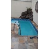 tratamento de piscina de fibra