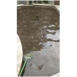 tratamento de sujeira na piscina