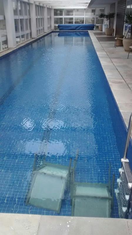Tratamento de Piscina com água Turva no Alto de Pinheiros - Tratamento de Piscina de Alvenaria